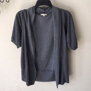 Silence + Noise short sleeve cardigan sweater M